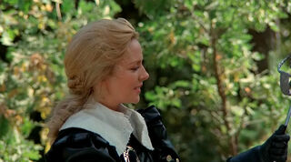 Justine de Winter (played by Kim Cattrall) The Return of the Musketeers 182