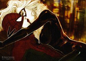 Spiderman x black cat by heylenne-d7wqx3j
