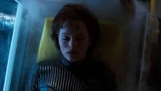 Jessica Priest in Spawn (played by Melinda Clarke) 157