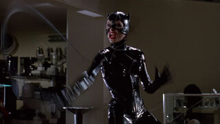 Selina Kyle-Catwoman (played by Michelle Pfeiffer) Batman Returns 48