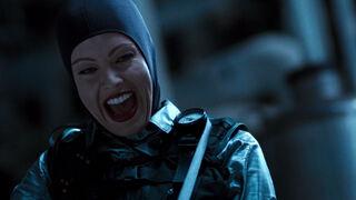Jessica Priest in Spawn (played by Melinda Clarke) 38
