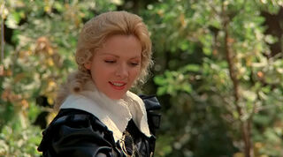 Justine de Winter (played by Kim Cattrall) The Return of the Musketeers 109