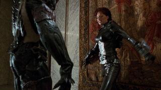 Jessica Priest in Spawn (played by Melinda Clarke) 115