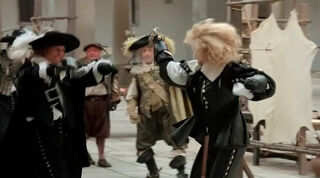 Justine de Winter (played by Kim Cattrall) The Return of the Musketeers 947