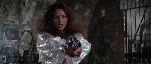 Fatima Blush (played by Barbara Carrera) Never Say Never Again 213