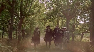 Justine de Winter (played by Kim Cattrall) The Return of the Musketeers 2486
