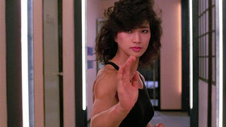 The Japanese Fighter in My Lucky Stars (played by Michiko Nishikawa) 200
