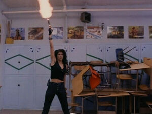Tanya in Demolition High (played by Melissa Brasselle) 185
