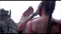 Sonya kicks Mileena Annihilation