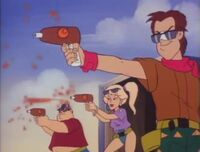 Bambi Police Academy The Animated Series The Hang Ten Gang 07