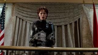 Jessica Priest in Spawn (played by Melinda Clarke) 81