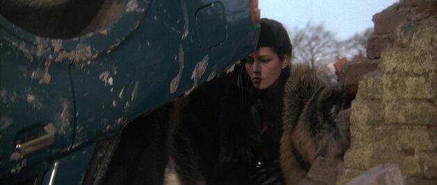Fatima Blush (played by Barbara Carrera) Never Say Never Again 42