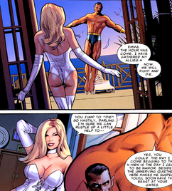 Emma Frost (Earth-616) Namor McKenzie (Earth-616) Uncanny X-Men Vol 1 540