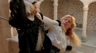 Justine de Winter (played by Kim Cattrall) The Return of the Musketeers 2142