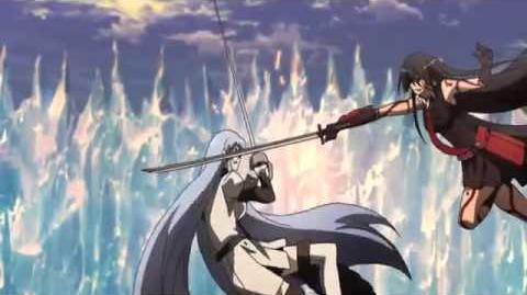 Akame vs Esdeath Full Fight English Sub