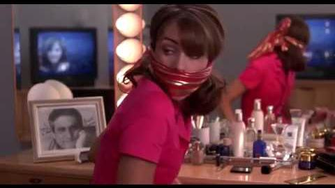 Elizabeth Hurley OTM gagged (My Favorite Martian)