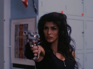 Tanya in Demolition High (played by Melissa Brasselle) 411