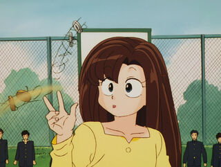 Hinako Ninomiya (voiced by Yumi Touma) Ranma 1-2 Oav 04 57