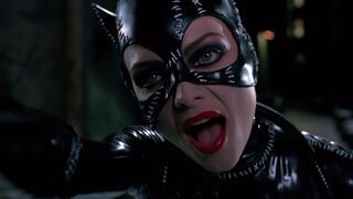 Selina Kyle-Catwoman (played by Michelle Pfeiffer) Batman Returns 37