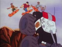Bambi Police Academy The Animated Series The Hang Ten Gang 10