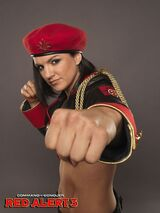 Gina-carano-command-conquer-red-alert-3-promoshoot-wallpapers 2