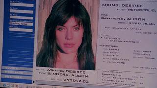 Desiree Atkins (played by Krista Allen) Smallville 49