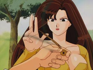 Hinako Ninomiya (voiced by Yumi Touma) Ranma 1-2 Oav 04 28