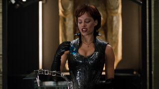 Jessica Priest in Spawn (played by Melinda Clarke) 60
