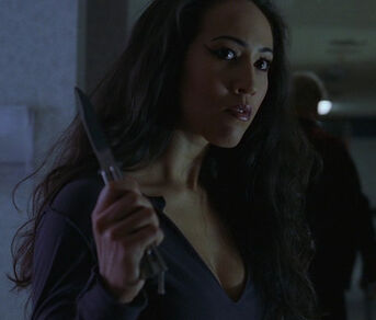 Nadja (played by Marisa Quintanilla) Road House 2 Last Call