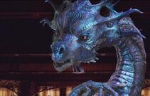 Queen Narissa as dragon