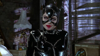 Selina Kyle-Catwoman (played by Michelle Pfeiffer) Batman Returns 91