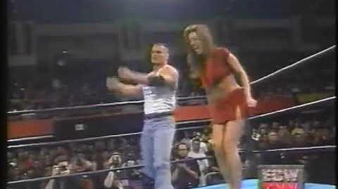 ECW Francine vs Dawn Marie CatFight 1999!!!