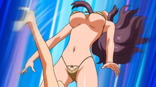 Risako Nagisa - Aika R-16 Virgin Mission - Somersault Kick KO