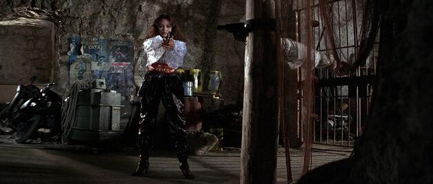 Fatima Blush (played by Barbara Carrera) Never Say Never Again 193-0