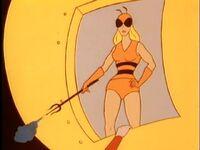 Honey Bee Professor D'Evelyn Plastic Man Honey Bee 05