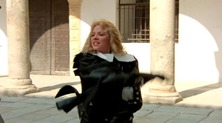 Justine de Winter (played by Kim Cattrall) The Return of the Musketeers 976
