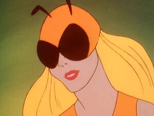 Honey Bee Professor D'Evelyn Plastic Man Honey Bee 00A