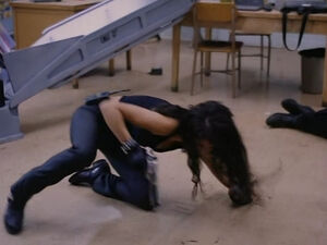 Tanya in Demolition High (played by Melissa Brasselle) 214