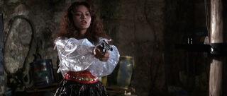 Fatima Blush (played by Barbara Carrera) Never Say Never Again 196-0