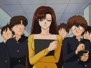 Hinako Ninomiya (voiced by Yumi Touma) Ranma 1-2 Oav 04 15
