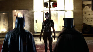 Selina Kyle-Catwoman (played by Michelle Pfeiffer) Batman Returns 55