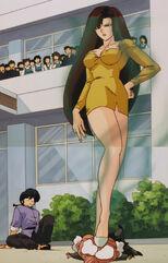 Hinako Ninomiya (voiced by Yumi Touma) Ranma 1-2 Oav 04 13
