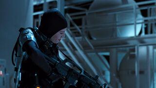 Jessica Priest in Spawn (played by Melinda Clarke) 33