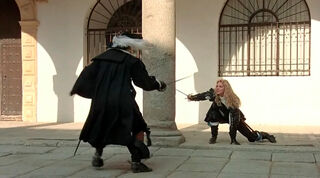 Justine de Winter (played by Kim Cattrall) The Return of the Musketeers 930