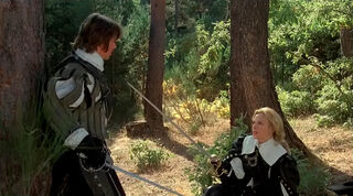 Justine de Winter (played by Kim Cattrall) The Return of the Musketeers 61
