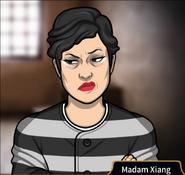 Madam Xiang prison uniform