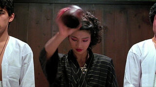 The Japanese Fighter in My Lucky Stars (played by Michiko Nishikawa) 78