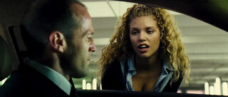Car Jacking Girl (played by Annalynne McCord) The Transporter 2 05