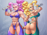Carol and Brenda (Captain Commando)