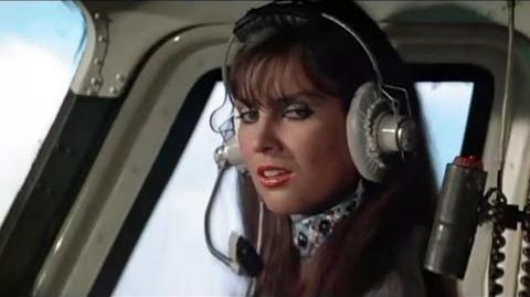James Bond Caroline Munro Helicopter Scene